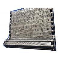 Quality Customized SS 304 Chain Plate Wire Mesh Conveyor Belt For Machinery for sale