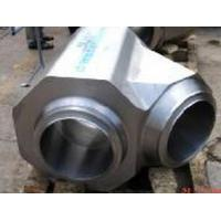 Quality Duplex stainless UNS S31803 forged lateral tee for sale