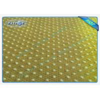 Quality Good Strength Anti Slip PP Spunbonded Non Woven Fabric with PVC Dots for sale