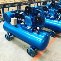 China Single Stage Belt Driven Piston Reciprocation Air Compressor 7.5kw 10HP on sale