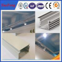Buy NEW!OEM led aluminum profile, aluminium profile 6063 white anodizing aluminium extrusion at wholesale prices
