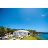 Anti UV Clear Span Structure Tent , 80 - 100 Km/H Transparent Wedding Tent