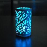 Buy cheap Charming unique D95*H165cm size Glass and iron LED Table lamp at night. from wholesalers
