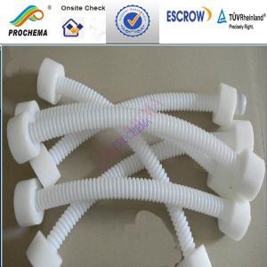 China FEP corrugated tube, FEP wave tube on sale