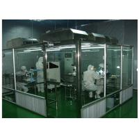 Buy ISO Semiconductor Air Shower Clean Room Class 100 - 10000 With Fan Filter Unit at wholesale prices