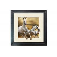 Buy Running Horse Image 3D Lenticular Printing Service MDP Frame 5D Effect at wholesale prices