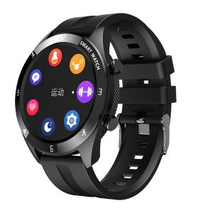 """Quality TFT LCD Round Color Screen 1.28"""" ECG Monitor Smart Watch for sale"""