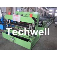Buy Steel Tile Roll Forming Machine / Cold Roll Forming Machine for Color Steel Tile at wholesale prices