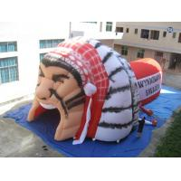 China Inflatable Helmet Tunnel / inflatable football tunnel warrior tunnel on sale