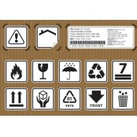 Quality Non Toxic Logistic Labels , Waterproof Design Shipping Address Label for sale