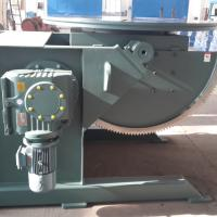 China 1400mm Tilt And Rotation Rotary Welding Table Equip 500mm Three Jaws Chuck on sale