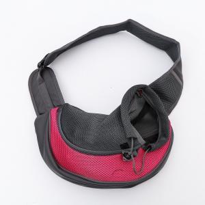 Quality Single Shoulder Pet Carrier Bag Elastic Buckle Inside For Outdoor Travel 0.4 Kg for sale