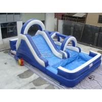 Quality Mini Blue Inflatable Water Park for sale