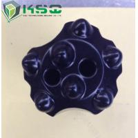Quality ISO apporoved For Rock / Mining 7/11/12 Degree Tungsten Carbide Tapered Button Drill Bit for sale