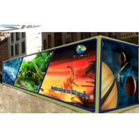 Quality Mobile 6D Movie Theater Simulator With Audio /Broadcast System And Polarized Glasses for sale