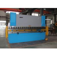 Quality Industrial Press Brake 300 Ton , Y X Axis Crowning CNC Brake Press Machine for sale