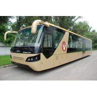 Quality Comfortable Diesel Engine 13 Seater Airport Apron Bus With Aluminum Apron for sale