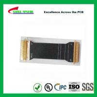 Quality Sillkscreen Flexible PCB Fabrication , Mobile Phone PCB Board Black Solder Mask for sale