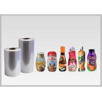 Quality Printable Heat Shrinkable PETG Film Rolls For Sleeve , 40 - 50 μ Eco Friendly for sale