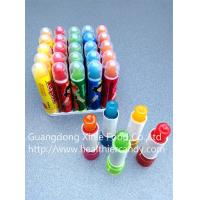Quality Lipstick Candy , Funny And Lovely Shape Fashionable Sweet Candy for sale