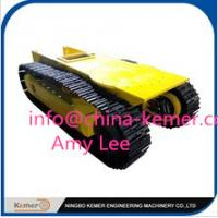 Quality pedrail chassis/pedrail undercarriage/pedrail structure tracks/hydraulic motor and reducer for sale