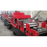 Buy Dual Holes Punching C Purlin Roll Forming Machine Hydraulic 14 MPa Work Pressure at wholesale prices