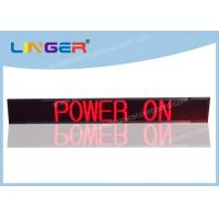 Quality Popular Design Led Scrolling Message Display Board With Weatherproof Frame for sale