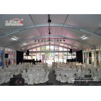 Sun Proof  500 People  Large Luxury  Aluminum Wedding Marquee Tent  For Temporary Event for sale