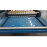 Quality Automated Roofing Sheet Corrugated Roll Forming Machine / Glazed Roof Panel Making Machines for sale