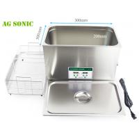Quality 600W Laboratory Ultrasonic Cleaner 30L With Digital Timer And Heater AG - 30D for sale