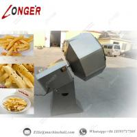 french fries seasoning machine