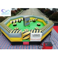 Quality Interactive Sports Wipeout Course Inflatable Meltdown Machine for sale