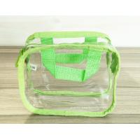 Buy cheap Simple Girl Transparent PVC Cosmetic Bags Clear Vinyl Travel Kit from wholesalers