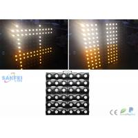 Quality 36pcs*3w Warm White Back Wall LED Matrix Lights for Stage / Blinder Audience for sale