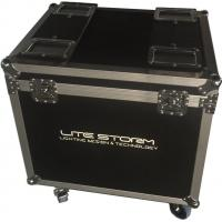 Quality Environmental Material Waterproof Rack Linging Flight Case For Show for sale