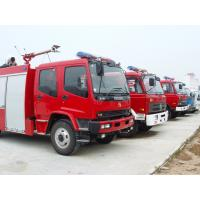 Quality ISUZU FTR foam fire trucks for sales for sale
