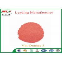 Quality 100% Purity Indanthrene Dye C I Vat Orange 3 Vat Brilliant Orange RK for sale