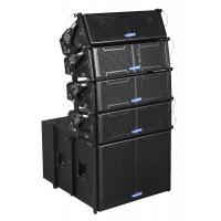 Quality double 6 inch line array speaker LA206 for sale