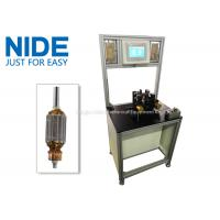 Quality Upgraded version high efficiency customized motor armature balancing equipment rotor testing machine for sale