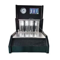 Quality Black Fuel Injector Tester Control Screen 200 Ml Testing Tube Volume for sale