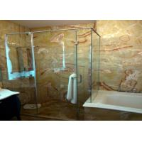 Red Dragon Onyx Natural Stone Bathroom Tiles , 12x12 Stone Tile Skid Resistant for sale