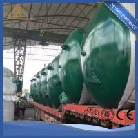 Buy Welded Carbon / Stainless Steel Potable Water Storage Tanks Industrial Insulated at wholesale prices