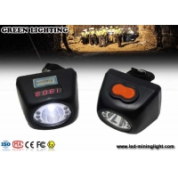 China Safety 4500 Lux 4.5Ah Underground Miner Cap Lamp on sale