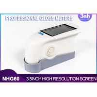 Buy cheap Single Angel Professional Gloss Meters NHG60 , Intelligent Gloss Level from wholesalers