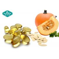 China Natural Pumpkin Seed Men'S Health Supplements 1000mg Oil Softgels For Male Health on sale