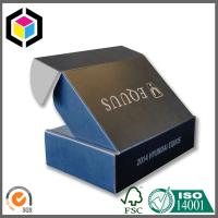 Quality CMYK Full Color Black Print Cardboard Shipping Box; Apparel Mailing Box for sale