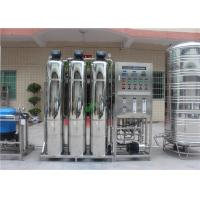 Quality Borehole Salty Water Treatment System Industrial RO Plant With UV for sale