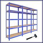 Quality Supermarket Electronics Wide Span Shelving / Metal Pallet Racking for sale
