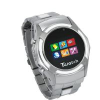 Quality S760 KK Video 3G Wrist Watch Phone Dual Sim Cards Standby with Build in 1GB memory for sale