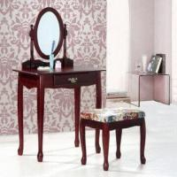 Quality Wooden Dressing Table, Made of MDF Paper Veneer + Hard Wood for sale